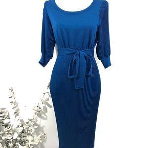 Escada Pleated Dress